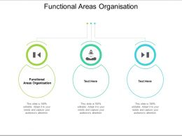 Functional Areas Organisation Ppt Powerpoint Presentation Layouts Ideas Cpb