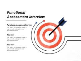 Functional Assessment Interview Ppt Powerpoint Presentation Gallery Templates Cpb