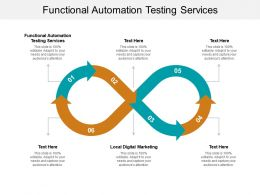 Functional Automation Testing Services Ppt Powerpoint Presentation Pictures Example File Cpb