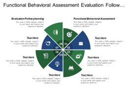 Functional Behavioral Assessment Evaluation Follow Planning Problem Solving