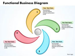 Functional Business Diagram Powerpoint Slides Presentation Diagrams Templates