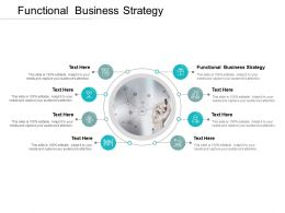 Functional Business Strategy Ppt Powerpoint Presentation Outline Cpb