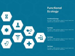Functional Ecology Ppt Powerpoint Presentation Model Format