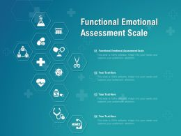 Functional Emotional Assessment Scale Ppt Powerpoint Presentation Summary Example