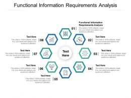 Functional Information Requirements Analysis Ppt Powerpoint Presentation Infographics Themes Cpb
