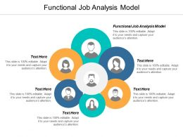 Functional Job Analysis Model Ppt Powerpoint Presentation Portfolio Guide Cpb