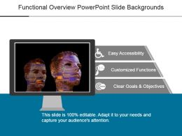 Functional Overview Powerpoint Slide Backgrounds