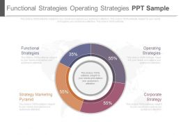 Functional Strategies Operating Strategies Ppt Sample