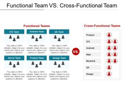 Functional Team Vs Cross Functional Team