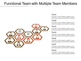 Functional Team With Multiple Team Members