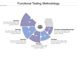 Functional Testing Methodology Ppt Powerpoint Presentation Infographic Template Visuals Cpb