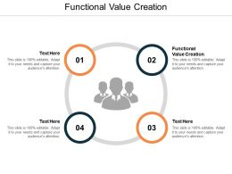 Functional Value Creation Ppt Powerpoint Presentation Gallery Pictures Cpb
