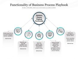 Functionality Of Business Process Playbook