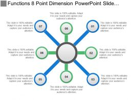 Functions 8 Point Dimension Powerpoint Slide Design Ideas