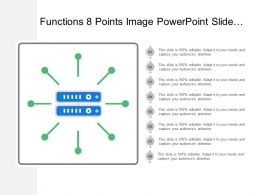 Functions 8 Points Image Powerpoint Slide Design Ideas