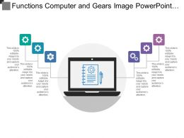 Functions Computer And Gears Image Powerpoint Slides