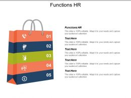 Functions Hr Ppt Powerpoint Presentation File Professional Cpb