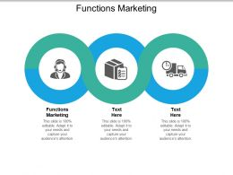Functions Marketing Ppt Powerpoint Presentation Summary Examples Cpb