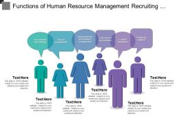 Functions Of Human Resource Management Recruiting And Staffing Payroll Conflict Resolution