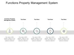 Functions Property Management System Ppt Powerpoint Presentation Portfolio Templates Cpb