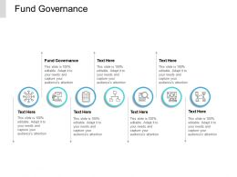 Fund Governance Ppt Powerpoint Presentation Pictures Summary Cpb