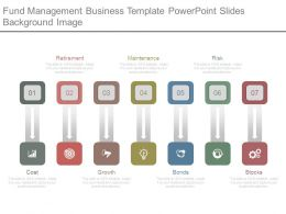 Fund Management Business Template Powerpoint Slides Background Image