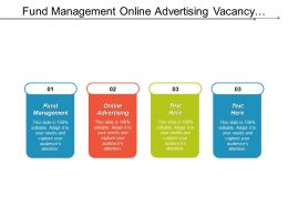 Fund Management Online Advertising Vacancy Development Monopoly Corporate Dividend Cpb