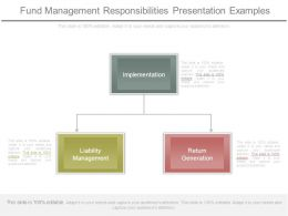 Fund Management Responsibilities Presentation Examples