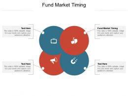 Fund Market Timing Ppt Powerpoint Presentation Visual Aids Infographic Template Cpb