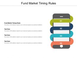 Fund Market Timing Rules Ppt Powerpoint Presentation Icon Layout Ideas Cpb