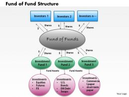 Fund Of Fund Structure powerpoint presentation slide template
