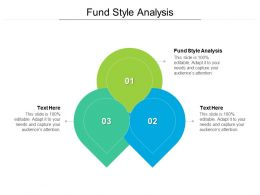 Fund Style Analysis Ppt Powerpoint Presentation File Shapes Cpb