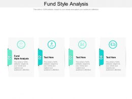 Fund Style Analysis Ppt Powerpoint Presentation Gallery Slide Portrait Cpb