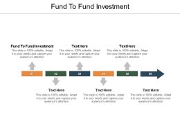 Fund To Fund Investment Ppt Powerpoint Presentation Gallery Infographics Cpb