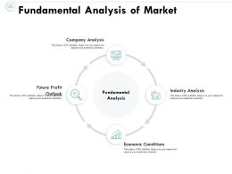 Fundamental Analysis Of Market Company Analysis Economic Conditions Ppt Powerpoint Presentation