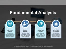Fundamental Analysis Of Market Company Analysis Industry Analysis Future