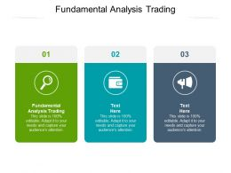 Fundamental Analysis Trading Ppt Powerpoint Presentation Gallery Smartart Cpb