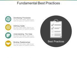Fundamental Best Practices Ppt Samples