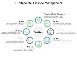 Fundamental Finance Management Ppt Powerpoint Presentation Ideas Cpb