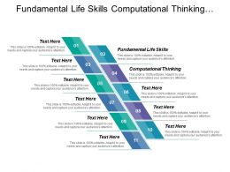 Fundamental Life Skills Computational Thinking Industries Competencies