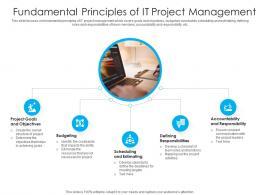 Fundamental Principles Of IT Project Management