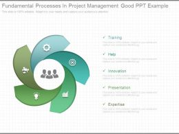 Fundamental Processes In Project Management Good Ppt Example
