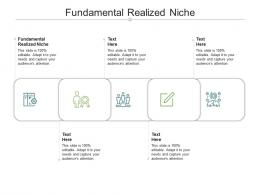 Fundamental Realized Niche Ppt Powerpoint Presentation Icon Example Cpb