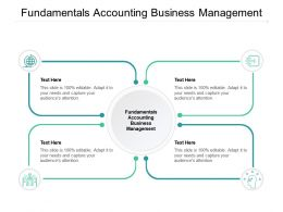 Fundamentals Accounting Business Management Ppt Powerpoint Example Cpb