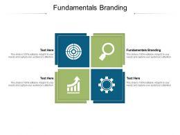 Fundamentals Branding Ppt Powerpoint Presentation File Icon Cpb