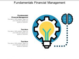 Fundamentals Financial Management Ppt Powerpoint Presentation Gallery Themes Cpb
