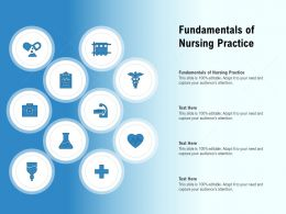 Fundamentals Of Nursing Practice Ppt Powerpoint Presentation Model Microsoft