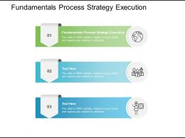 Fundamentals Process Strategy Execution Ppt Powerpoint Presentation Rules Cpb