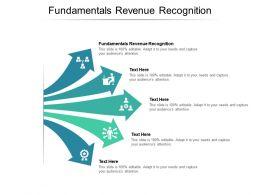 Fundamentals Revenue Recognition Ppt Powerpoint Presentation Professional Clipart Cpb