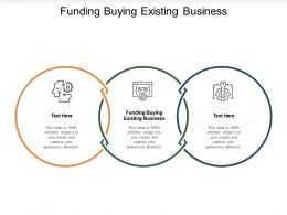 Funding Buying Existing Business Ppt Powerpoint Presentation Portfolio Professional Cpb